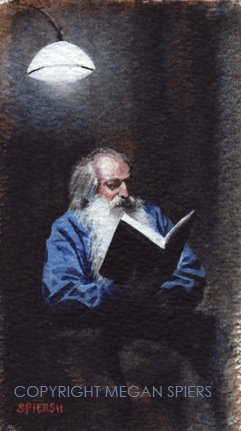 Reading Tolstoy Copyright Megan Spiers