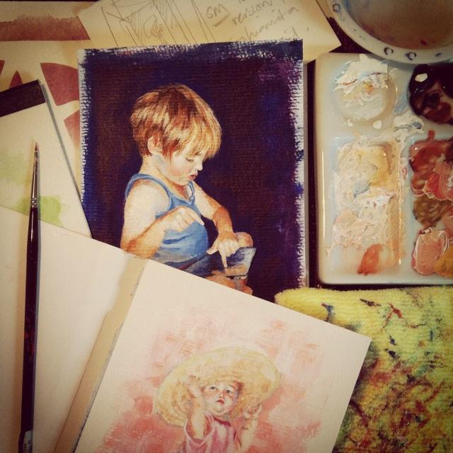 meganspiers portraits art table